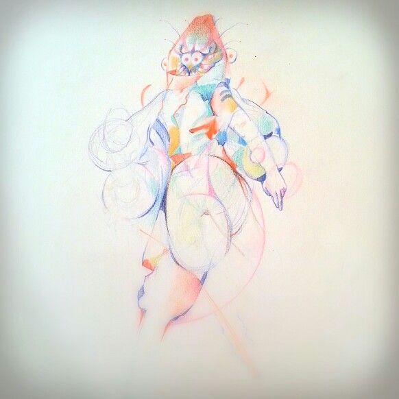 """""""Interdimensional God"""" By Felipe Saenz de Urtury"""