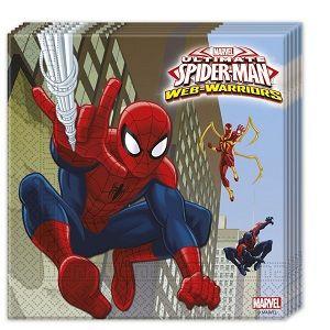 16 Kişilik Spiderman-Örümcek Adam Doğum Günü Parti Seti - Doğum Günü Süsleri   Nice Yaşlara