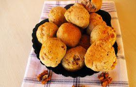 Éva paleo konyhája: NoCarb- Noodle - diós-tepertős- pogácsa- paleo