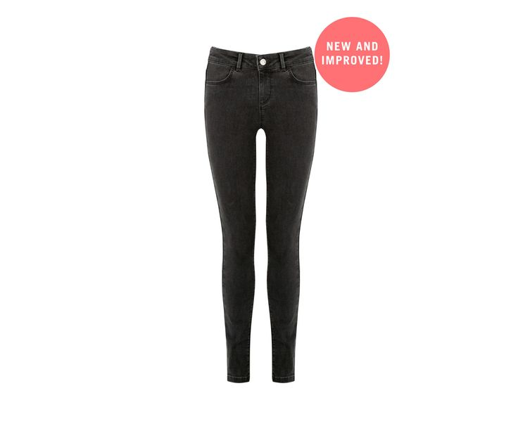 Oasis, Classic Skinny Jeans Mid Grey