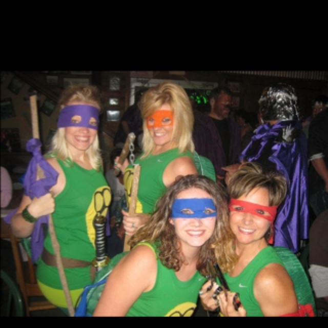 TMNT. Would be fun for Warrior Dash!