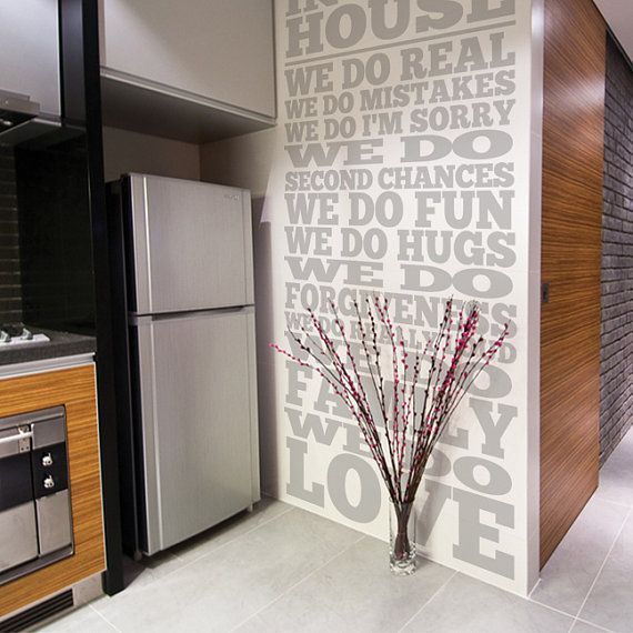 Best Decals Images On Pinterest Kitchen Walls Vinyl Wall - How to put up a large wall sticker