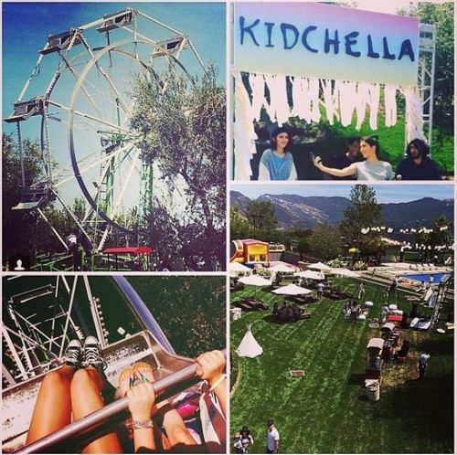 North West's 1st birthday party, 'Kidchella' photos on Instagram