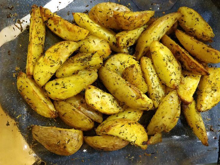 [Homemade] potato wedges