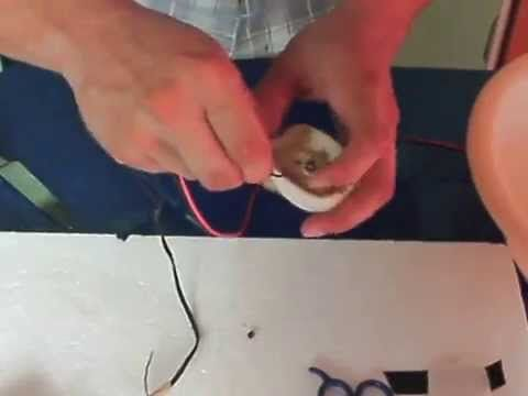 Como hacer tu propia maquina de algodón de azúcar casera - YouTube