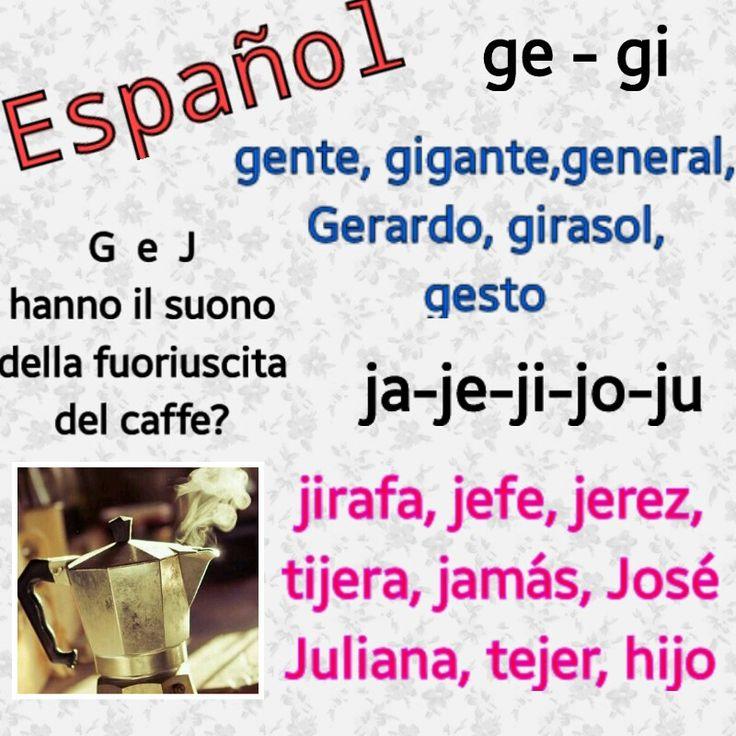 Lezioni di Spagnolo: Sonidos de G y J