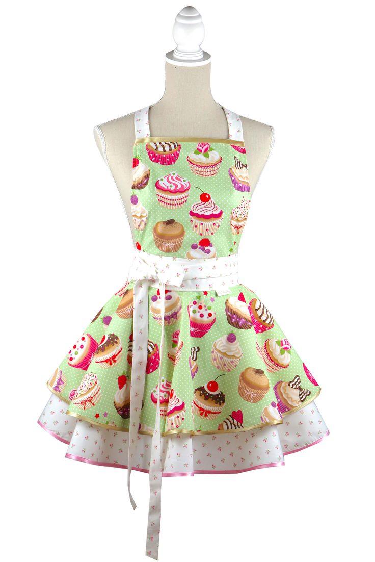Luxury Cupcake kitchen apron Chic&Lovely