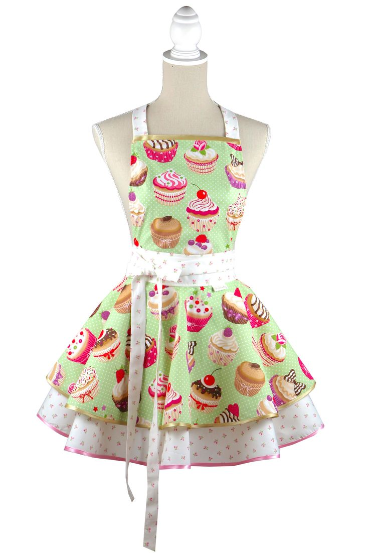 Luxury Cupcake kitchen apron Chic&Lovely