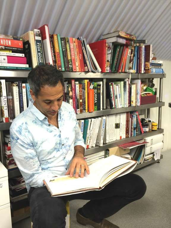 A magical tour of Yotam Ottolenghi's cookbook collection - The Happy Foodie