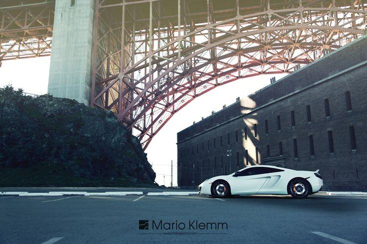 McLaren MP4-12C #goldengatebridge #sanfrancisco #goldrushrally