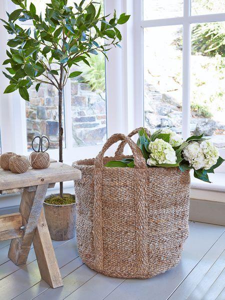 natural jute storage bag - Nordic House