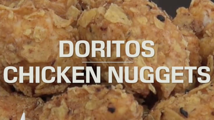 Ingredients: serves 4  6 chicken tenderloins / 2 large breasts2 cups crushed Doritos / corn chips1/4 cup taco spice mix (mild)2 eggs1 cup plain flourVegetable oil to fryMethod:Crush Doritos in bag ...