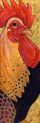 ,Roosters Drawing, Roosters Art, Ursulav Deviantart Com, Ursula Vernon, Klimtesqu Roosters, Chicken Art, Roosters Illustration, Birds, Klimt Roosters