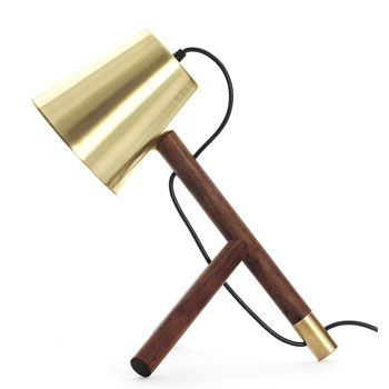 David Krynauw - Little man Brass Table Lamp