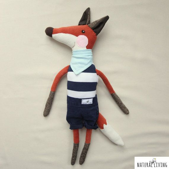 NAUTICAL FOX JEREMY who loves the summer time!