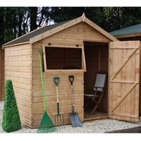 6 x 8 Windsor Shiplap Apex Shed