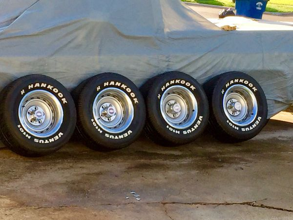 15x8 Chevy C10 Rally Wheels N 275 60 15 Tires For Sale In Dallas Tx Tires For Sale Chevy C10 Rally