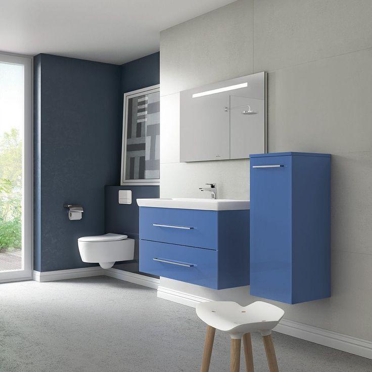 Contemporary bathroom / ceramic / glass AVENTO Villeroy & Boch
