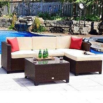 Wicker Rattan Outdoor Furniture Outdoor Rattan Outdoor Furniture Loveseat Sofa Und Garden Furniture Sets