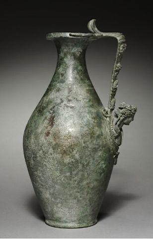 Olpe Italy, Roman, 1st Century Date: 1-100 Medium: cast bronze .