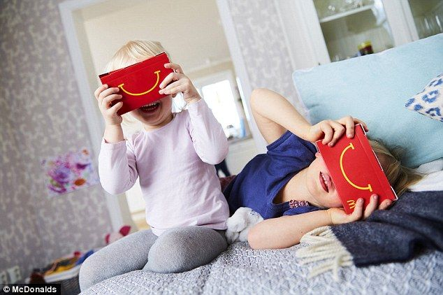 From this Friday, children will be able to play virtual reality games or watch videos while tucking into their chicken nuggets. Child psychologists Karl Eder and Fadi Lahdo, together with McDonald's Sweden, have evaluated the 'Happy Goggles' and given a recommendation as to how they should be used