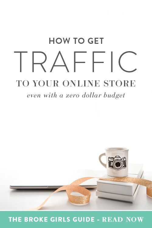 You just launched your online store and you're excited about all of the possibilities that having an online business brings, like more money and more freedom. You've worked hard to create a really great product and stock your store full of inventory that you know your customers will love. But when your website goes live, all you get is crickets. | Think Creative Collective