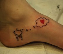 Inspiring picture cute, feet, foot, foot tattoo, girl, heart. Resolution: 500x334 px. Find the picture to your taste!