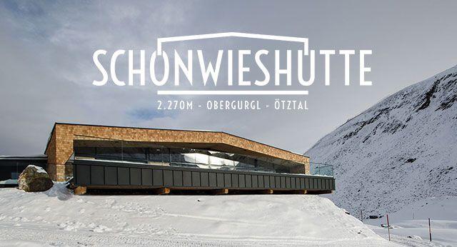 Schönwieshütte in Obergurgl.