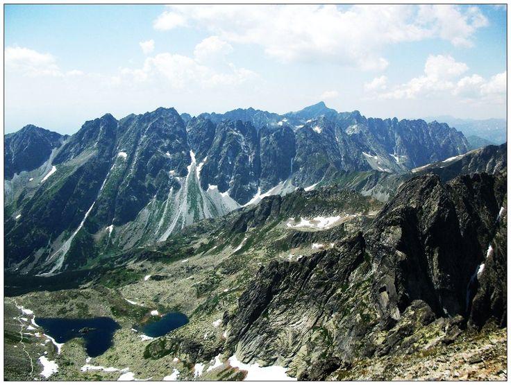 widoki z Rysów - Tatry