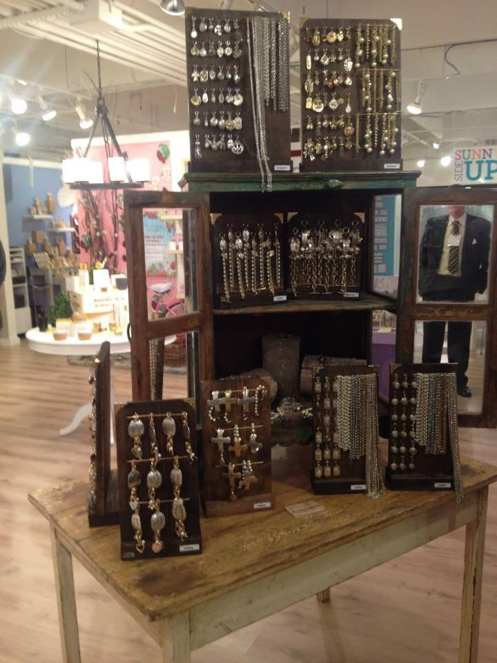 Find A Vintage Cabinet And Turn It Into Jewelry Display