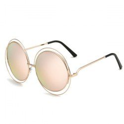 SHARE & Get it FREE   Chic Hollow Out Round Mirrored Sunglasses For WomenFor Fashion Lovers only:80,000+ Items • FREE SHIPPING Join Twinkledeals: Get YOUR $50 NOW!
