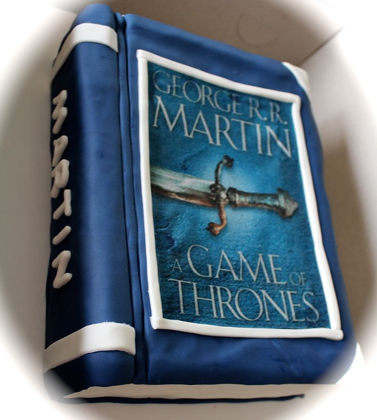 Game of Thrones Book Cake