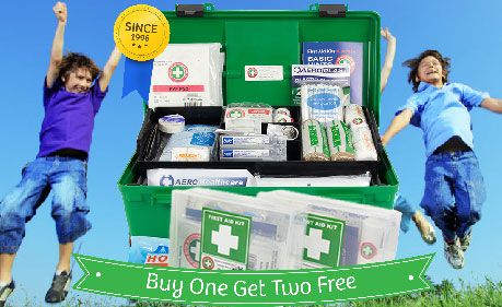 Every home should have one - First Aid Kits.  There are a variety to select from via the original First Aid Kits Australia website.