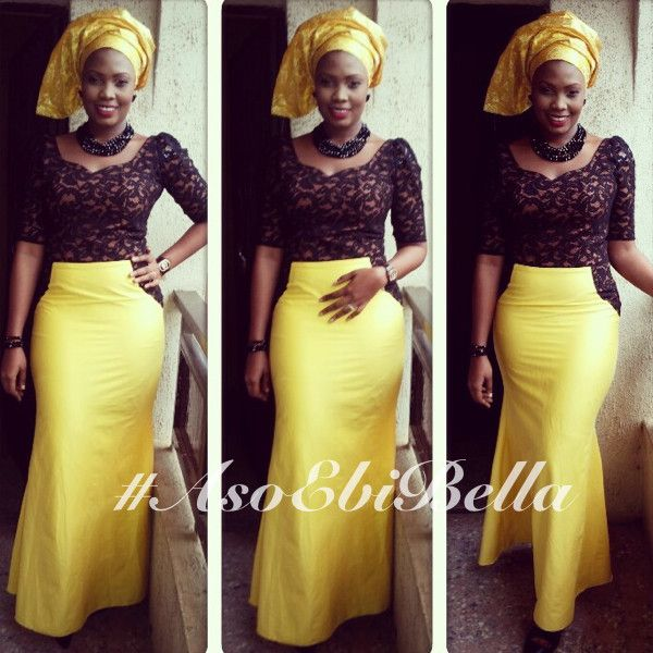 African Dress With Lace Top