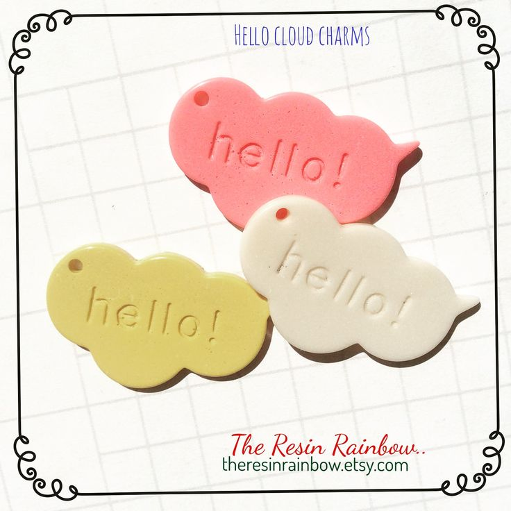 hello!  .. add a cloud charm to your planner ..