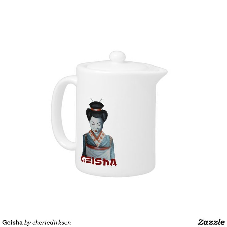 Geisha Teapot less 20% this #BlackFriday2017
