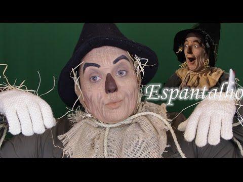 SCARECROW WIZARD OF OZ MAKEUP - MAQUIAGEM DO ESPANTALHO DO FILME O MÁGICO DE OZ - YouTube