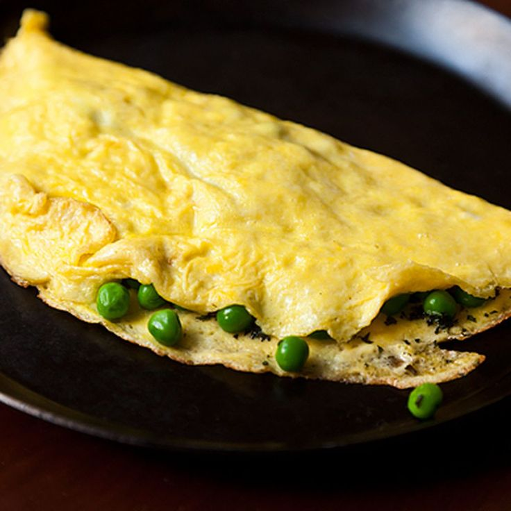 Petite Pea Omelet with Mint and Mascarpone Recipe on Food52 recipe on Food52