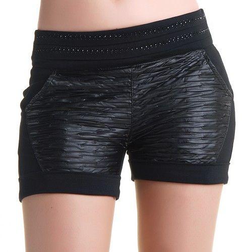 Pantalones Cortos con Brillantes