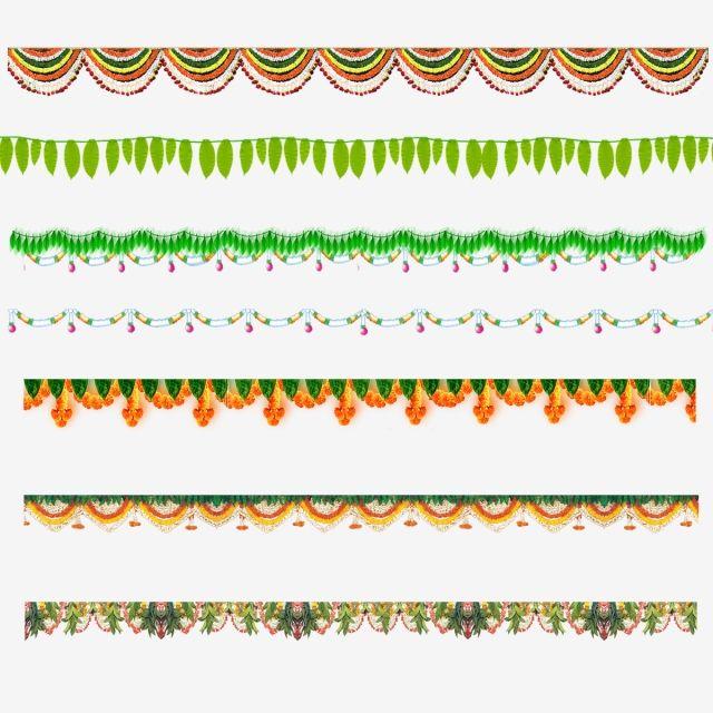 Garland Festival Sankranthi Pongal Flower Hand Painted Flower Mango Leaf Mango Leaves Ugadi Mangos Psd Free Photoshop Wedding Vector Art Wedding Banner Design