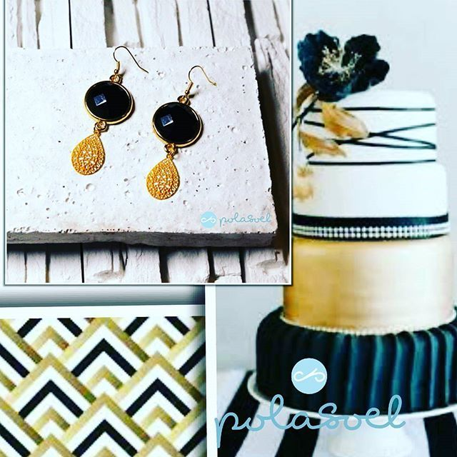 Inspirations and earrings. Black and gold.i just love them 💕 Do you love them???💖 Join my Etsy shop link in the bio #etsysellers #etsylove #etsygifts #etsyshops #etsyshop #valentinegift #giftideas #giftsforher #etsyjewelry #handmadejewelry #handmade #supporthandmade #smallbusiness #etsysellersofinstagram #instagreece #egst #heartofhandmade  #differencemakesus etsysocial
