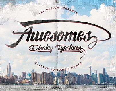 "Check out new work on my @Behance portfolio: ""Awesome Display Free Font"" http://be.net/gallery/40629161/Awesome-Display-Free-Font"