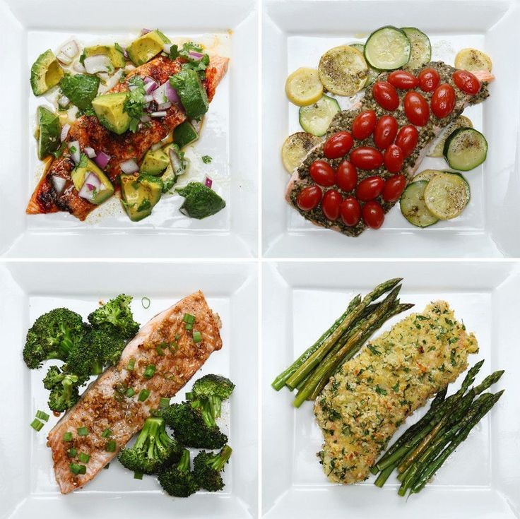 Here Are Four Healthy Ways To Make A Salmon Dinner Tonight