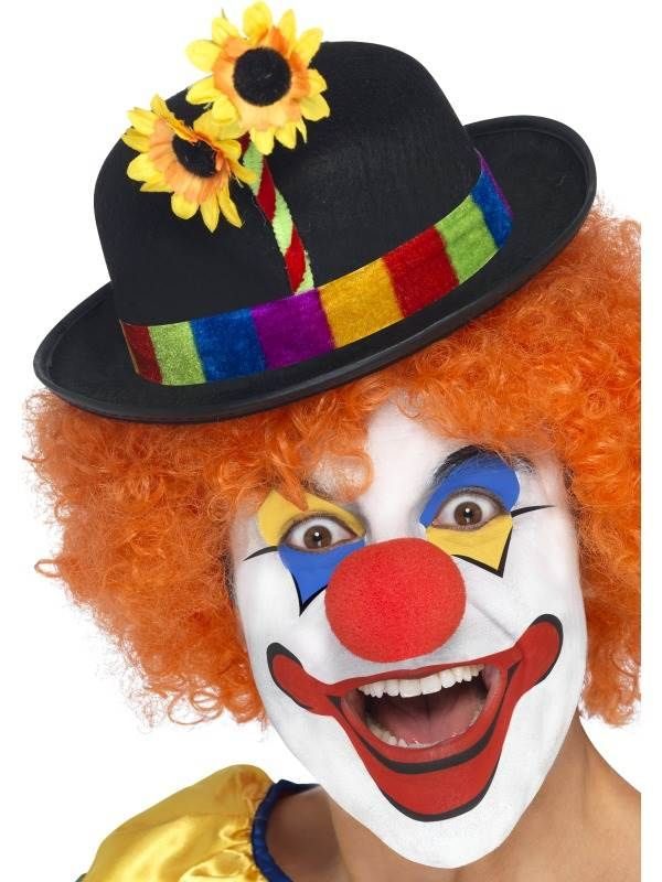 Adult Fancy Dress Costumes MULTI #US Cute Clown Hat