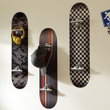 Great Skateboard Room Decor Skate Boards As Hooks