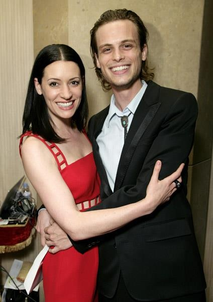 Paget Brewster / Matthew Gray Gubler
