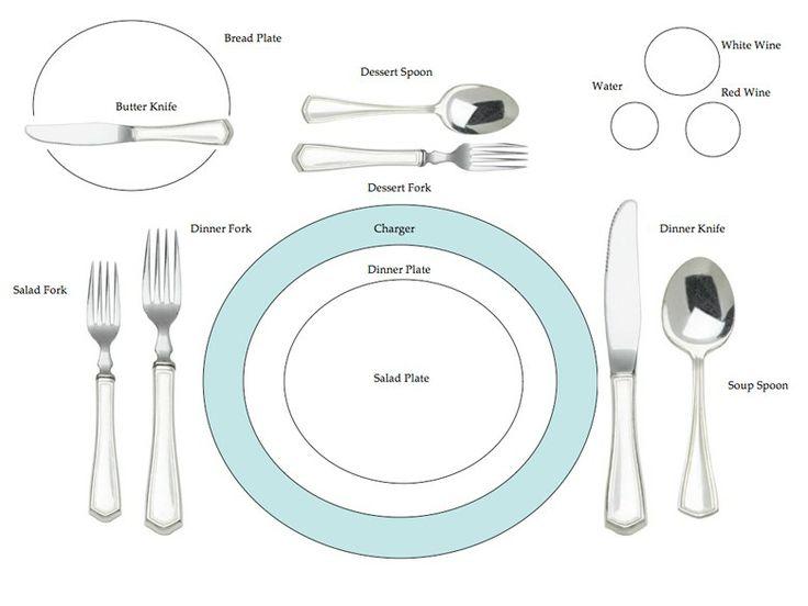 Formal Dinner Setting 45 best etiquette for formal and informal meals images on