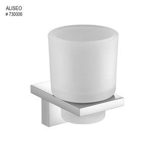 aliseo zentric tumbler and holder square shape hotel project