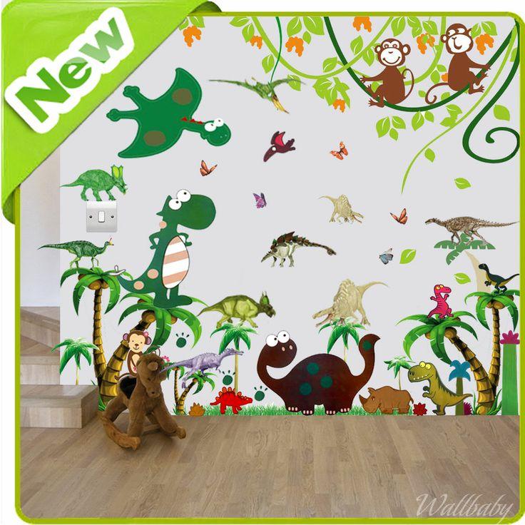 50 best Dinosaur bedroom images on Pinterest   Dinosaurs, The good ...