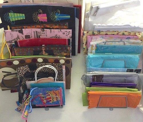 25 unique Tissue paper storage ideas on